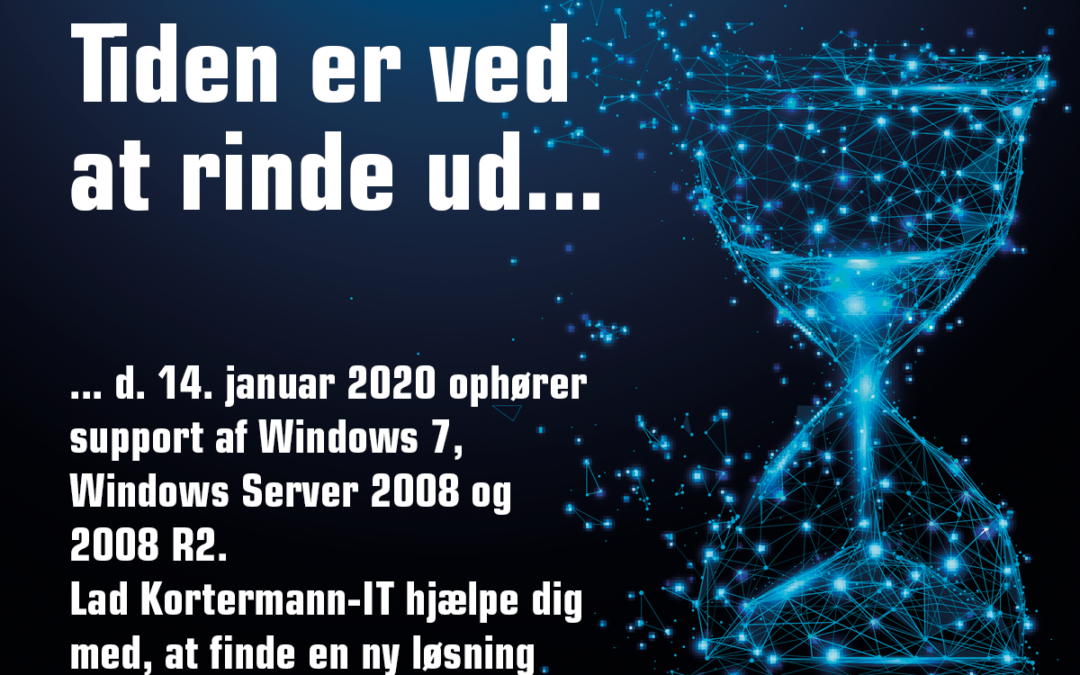 Support ophører Windows 7, Windows Server 2008 og 2008 R2